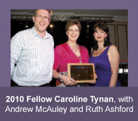 2010 HFAM Caroline Tynan with Andrew McAuley and Ruth Ashford