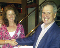 Presentation of AM2011 Doctoral Colloquium Prize to Ann T. Walsh
