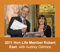 2011 HLMAM Robert East with Audrey Gilmore