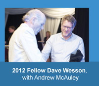 2012 HFAM Dave Wesson with Andrew McAuley