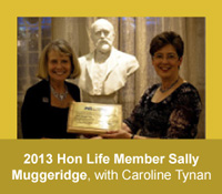 2013 HLMAM Sally Muggeridge with Caroline Tynan