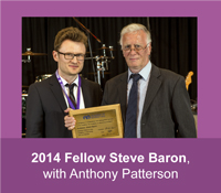 2014 HFAM Steve Baron with Anthony Patterson