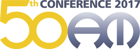 50th AM Conference logo