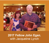 2017 Honorary Fellow of the Academy John Egan