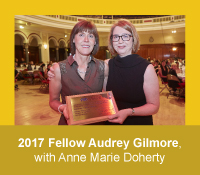 2017 Honorary Fellow of the Academy of Marketing Audrey Gilmore