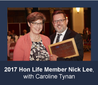 2017 Honorary Life Member of the Academy Nick Lee