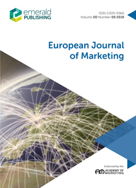 European Journal of Marketing cover image
