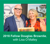 2018 Honorary Fellow Professor Douglas Brownlie