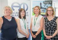 Photo of Lisa O'Malley, Helen Bruce, Emma Banister and Anne Marie Doherty